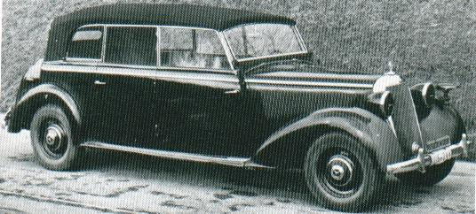 1932-33 Mercedes Benz Mannheim 380S W20