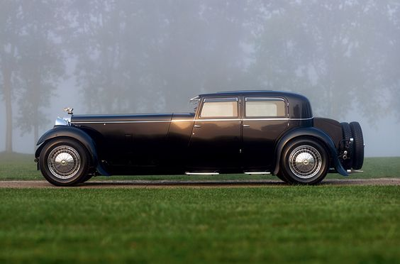 1932 Daimler Double Six 40-50 Martin Walter Sports Saloon