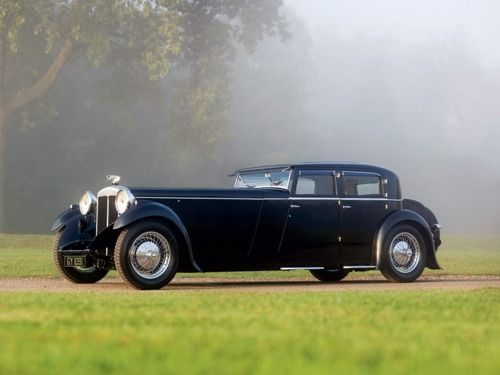 1932 Daimler Double Six Built by Martin Walter Coachworks