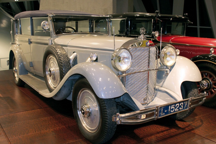 1932 Mercedes Benz 770 (W07) Grosser cabriolet, formerly owned by ex-emperor Wilhelm II
