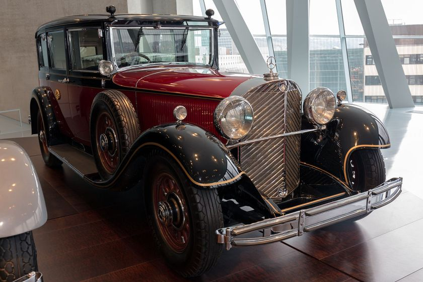 1932 Mercedes Benz 770 (W07) limousine used by Emperor Hirohito