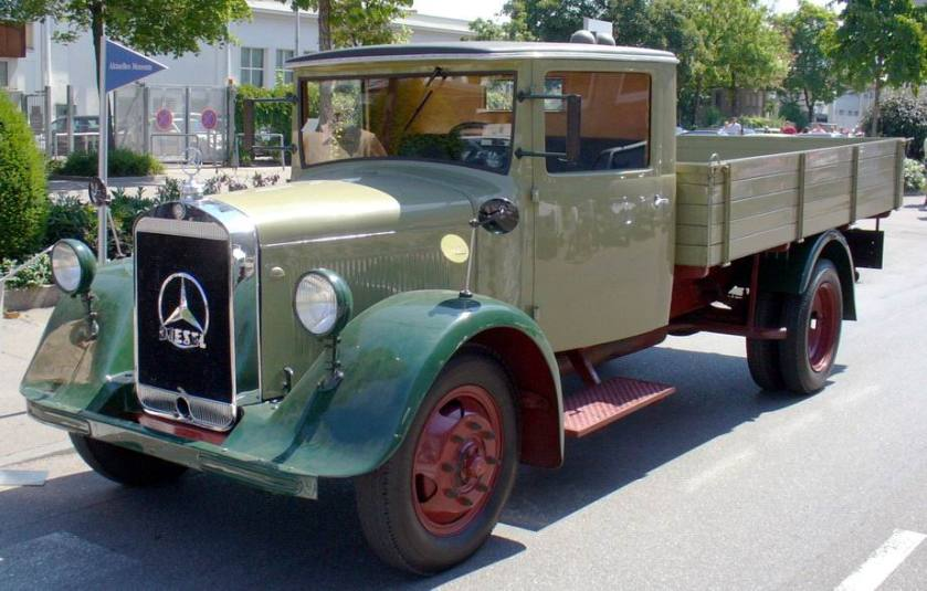 1932 Mercedes Benz-Lastkraftwagen