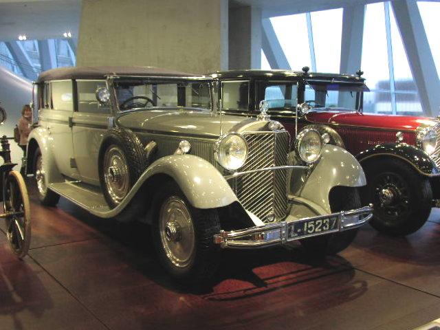 1932 Mercedes Benz W07 770 Cabrio F WilhelmII 01