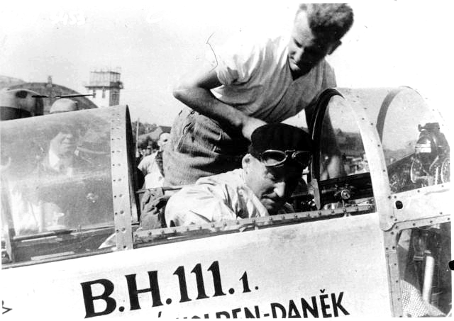 1932 Praga BH-111 & Josef Kalla