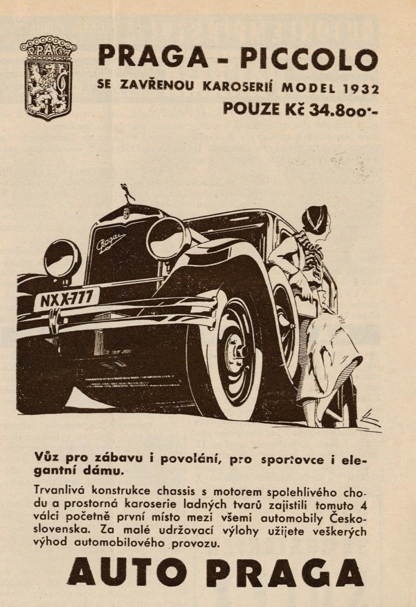 1932 Praga Piccolo 5-1932