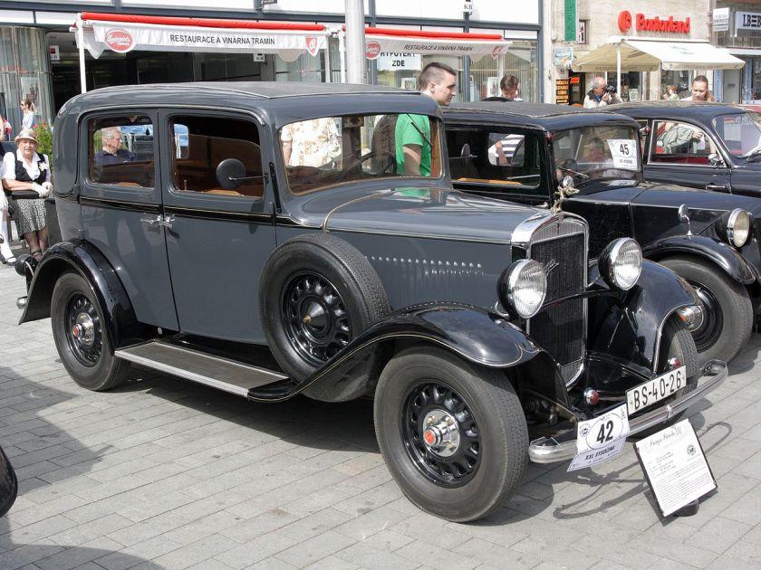 1932 Praga Piccolo Р21 Limusina