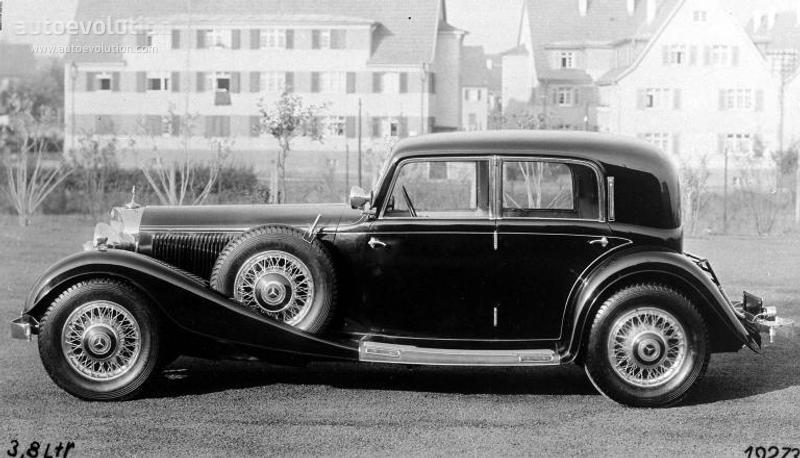 1933-34 MERCEDES BENZ Typ 380 (W22)