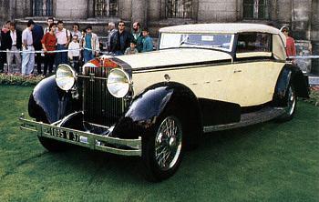 1933 isotta fraschini 8a cabrio