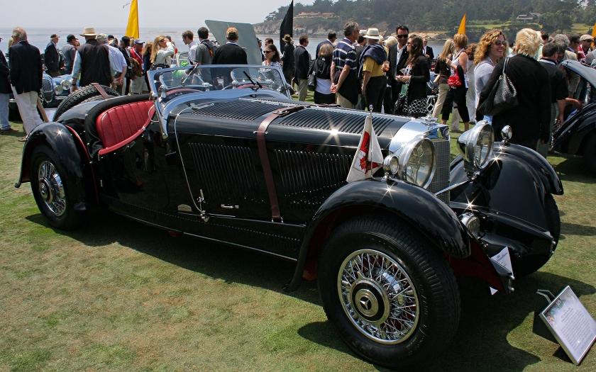 1933 Mercedes-Benz 380K Erdmann & Rossi Sport-Roadster
