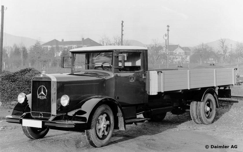 Mercedes-Benz Typ Lo 3500 Pritschenwagen, 1933.