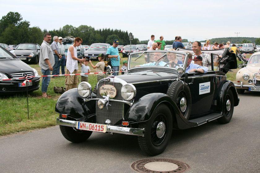 1933 Mercedes Benz Type 290 Cabriolet B W18