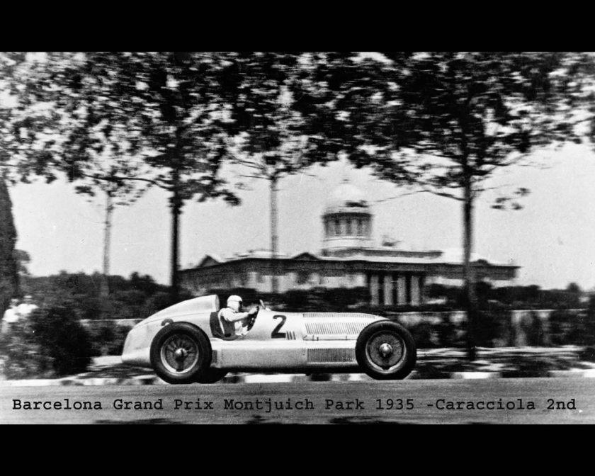 1934-36 Mercedes Silver Arrow W25