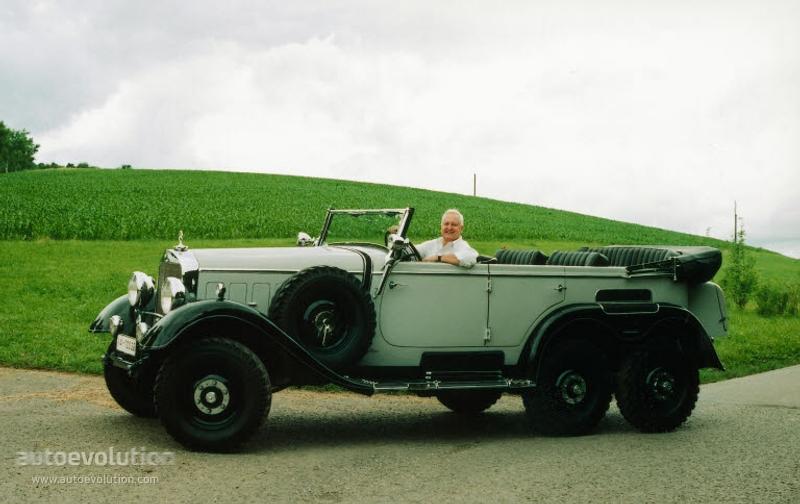 1934-39 MERCEDES BENZ G4-W31-2596 5