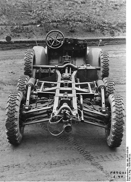 1934-41 Krupp Protze Fahrgestel Bundesarchiv_Bild 146-1993-039-08, Krupp 1,5-Tonner