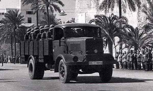 1934-55 Isotta Fraschini d80 COM a Tripoli