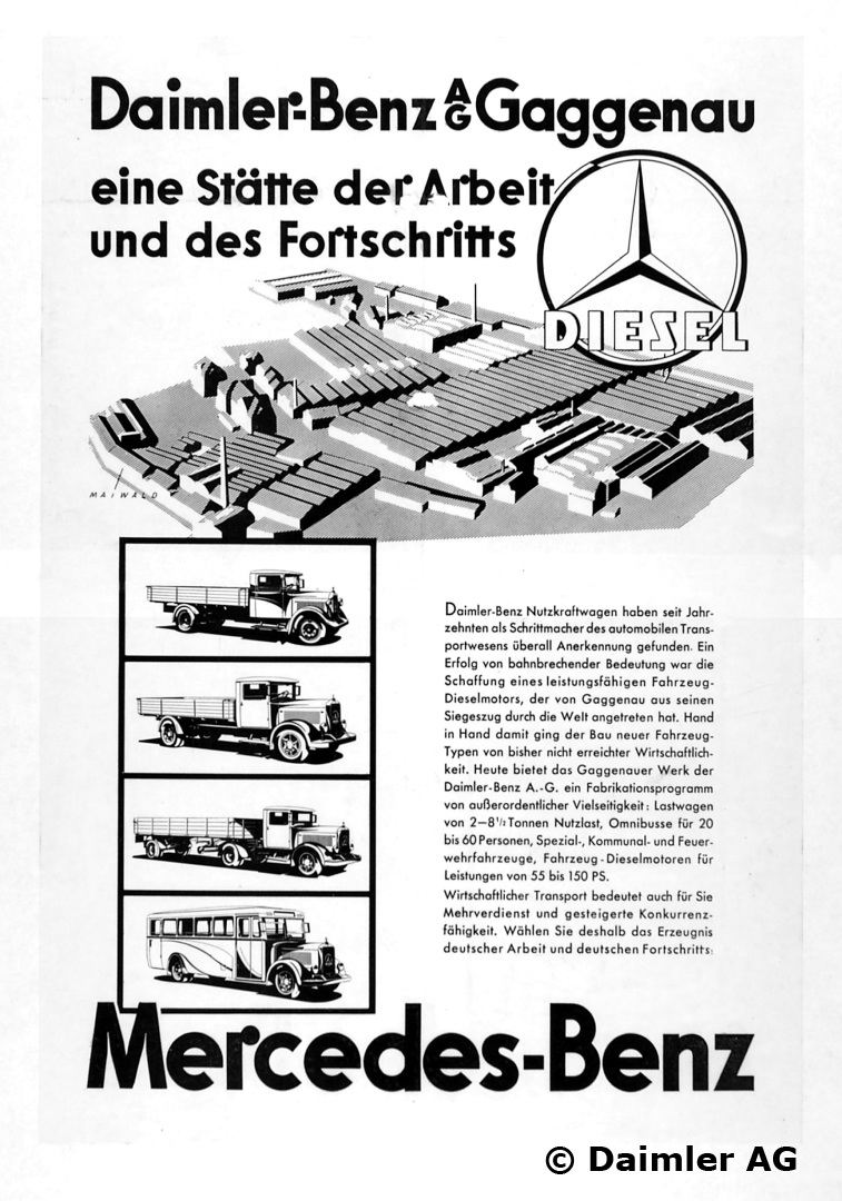 1934 Advertising MB Trucks