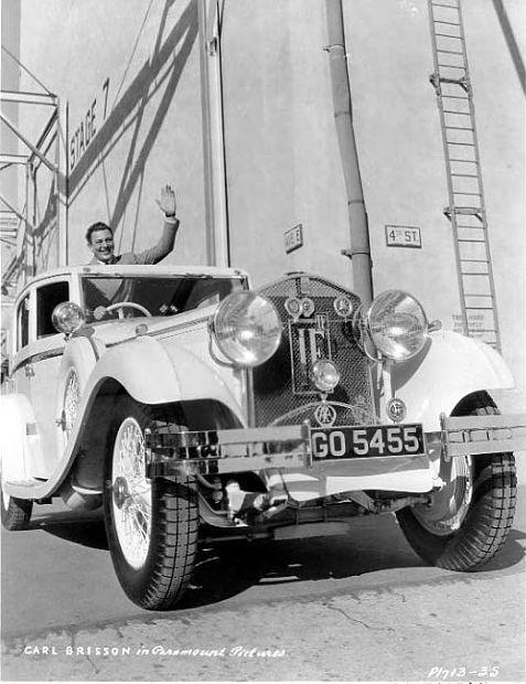1934 Isotta Fraschini ad