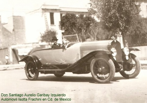 1934 Isotta fraschini mexico