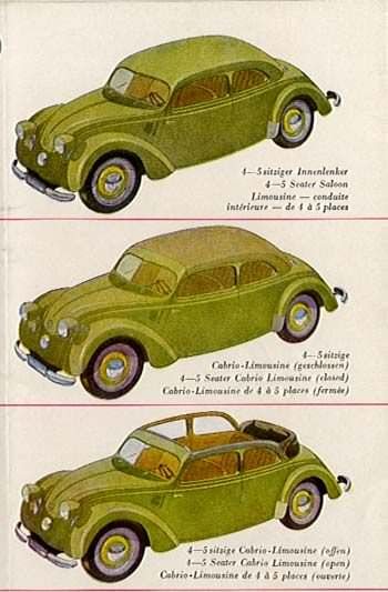 1934 Mercedes Benz 170 serie W29-a
