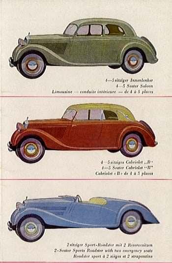 1934 Mercedes Benz 170 serie W29