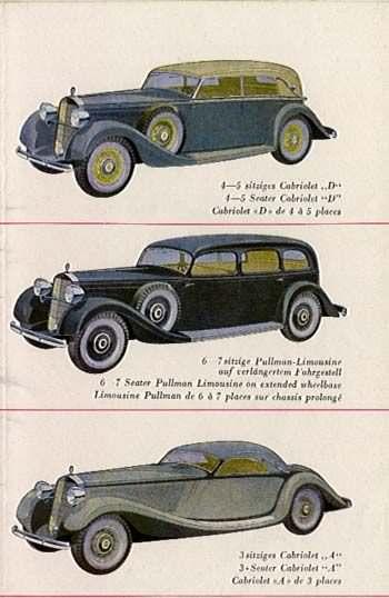 1934 Mercedes Benz 230 serie