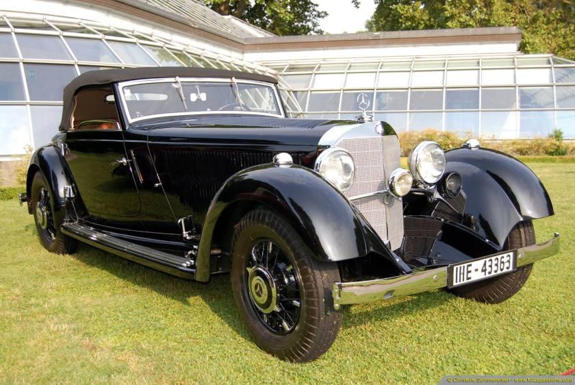 1934 Mercedes Benz 380 K W22