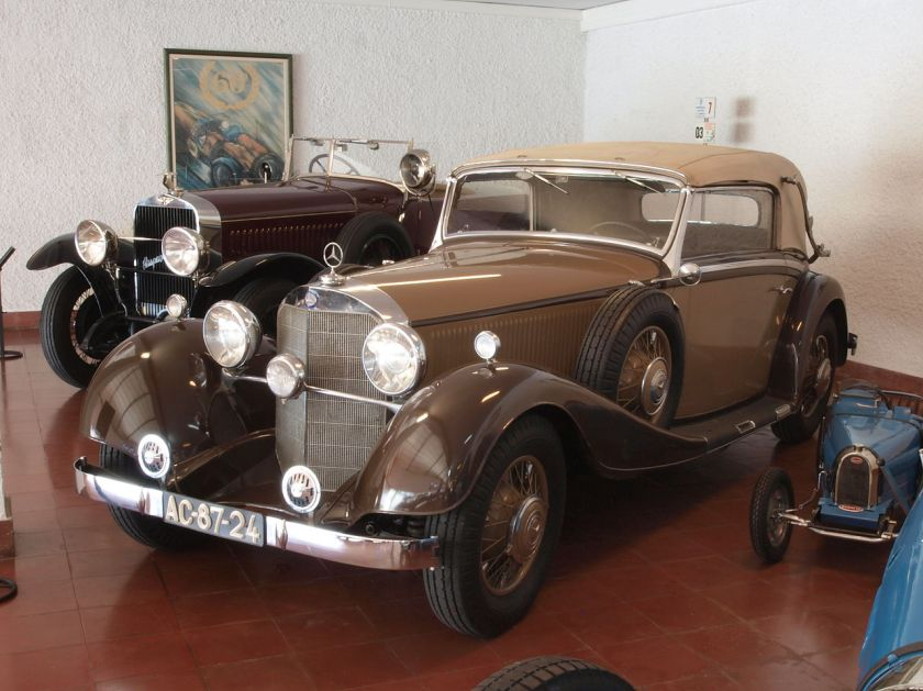 1934 Mercedes Benz 380K, 140hp 3800cc 155kmh