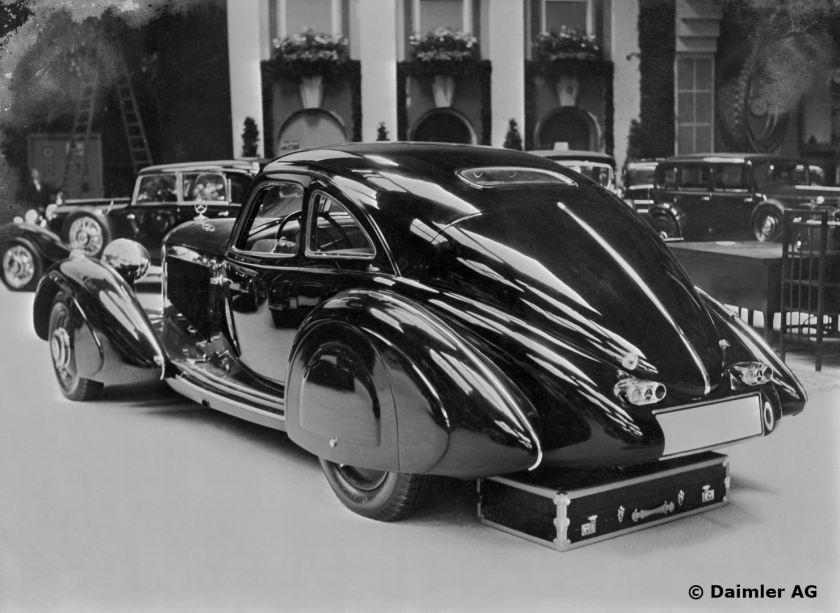 1934 Mercedes Benz 500 K Autobahnkurier (Autobahn Courier).