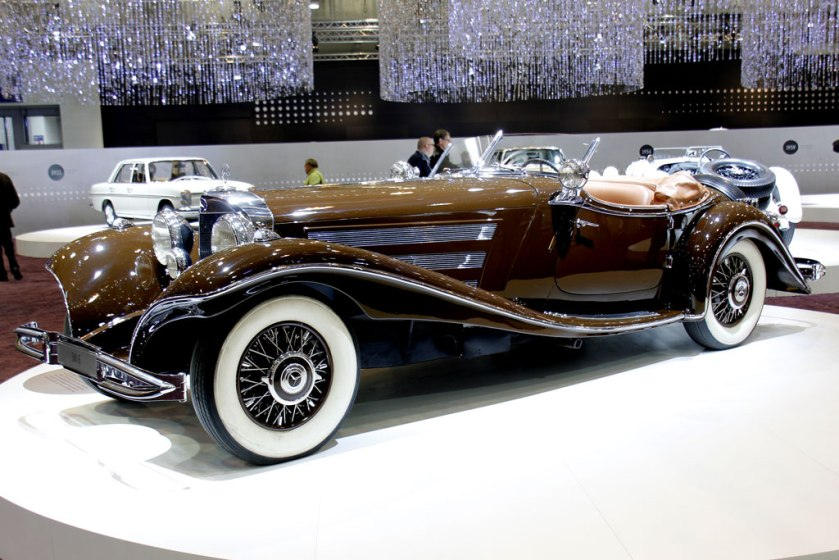 1934 Mercedes Benz 500 K Special Roadster W29 3215