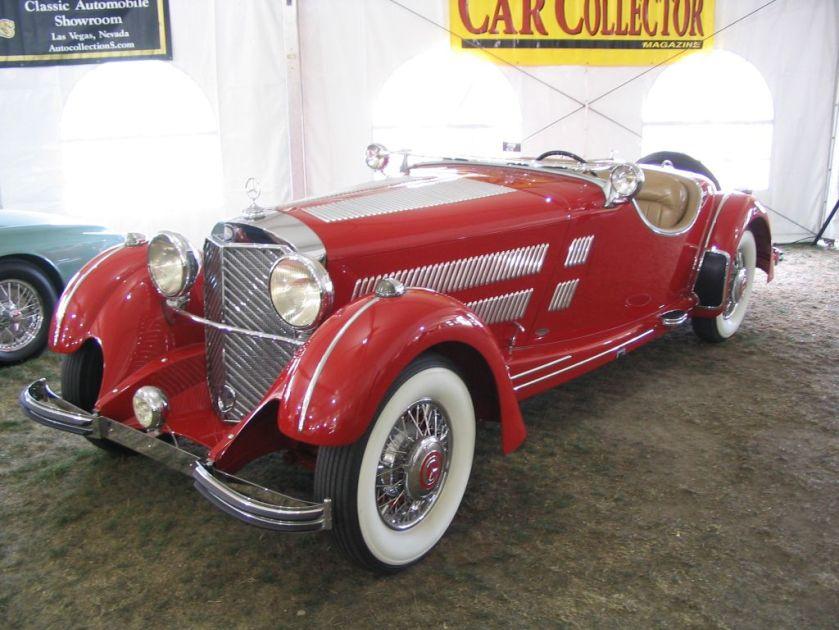 1934 Mercedes-Benz 500 K Sport-Roadster W29