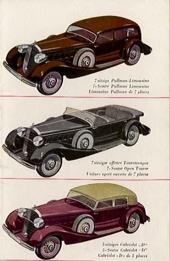 1934 Mercedes Benz 500