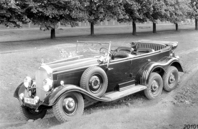 1934 mercedes benz 520 540 g 4 W131