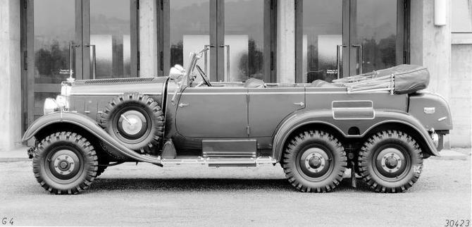 1934 mercedes benz 520 540 g 4 W131a