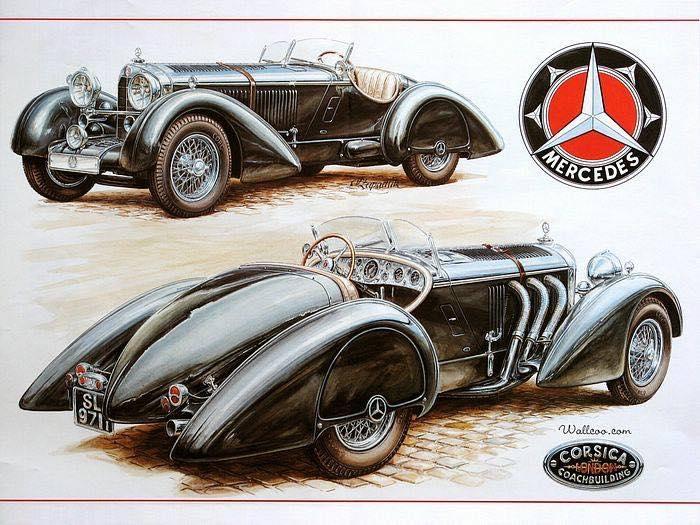 1934 Mercedes Benz Corsica Coachbuilding