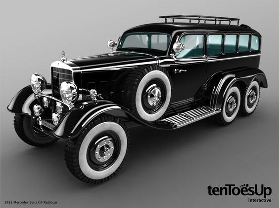 1934 Mercedes-Benz G4