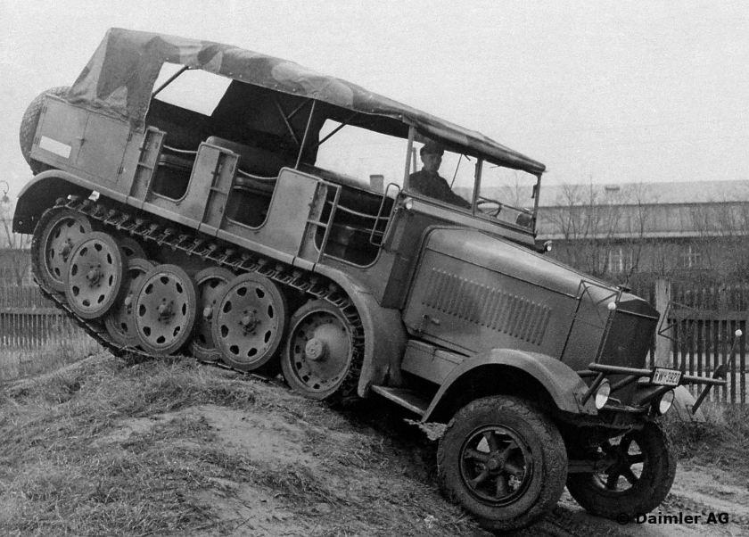 Militär, DB 7 Zugmaschine, Berlin-Marienfelde