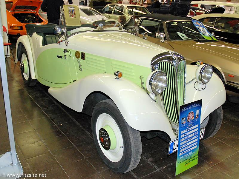 1934 Praga Baby - cabriolet body