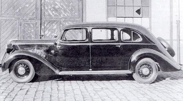 1934 praga golden profil