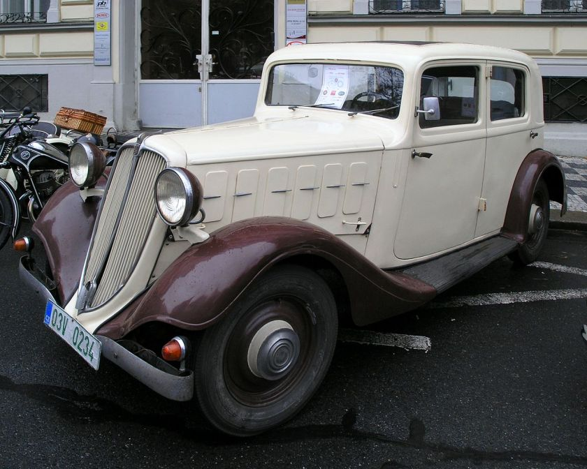 1934 Praga Super Piccolo a