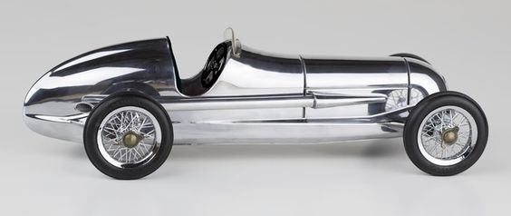 1934 W 25 Mercedes Benz Silver Arrow Silberpfeil Model 12 Racing Car