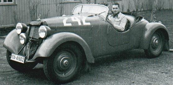 1935-36 Mercedes-Benz-150 Heckmotor Sport W130 open