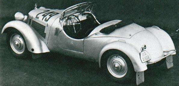 1935-36 Mercedes Benz 150 Heckmotor Sport W130