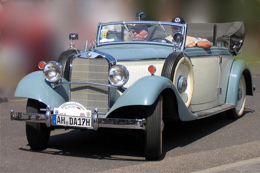 1935 Mercedes Benz 200 W21