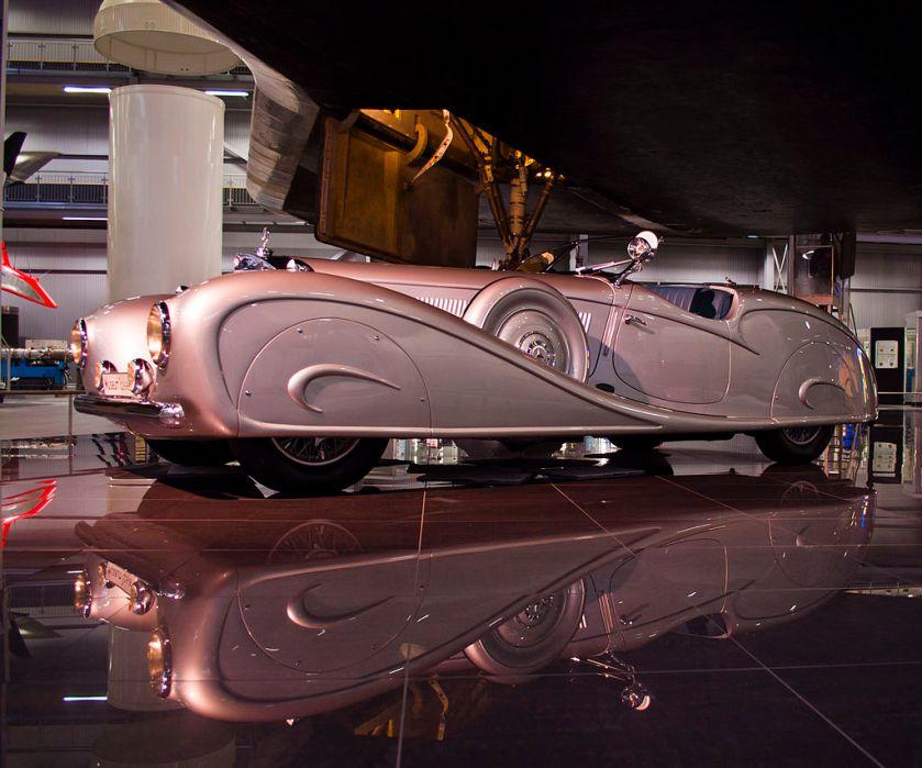 1935 Mercedes Benz 500 K W29 mit Erdmann-&-Rossi-Karosserie für den König des Irak