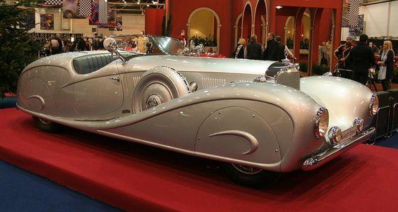 1935 Mercedes Benz 500K Erdmann & Rossi