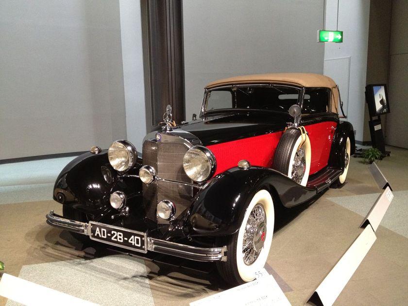 1935 Mercedes-Benz 500K W29