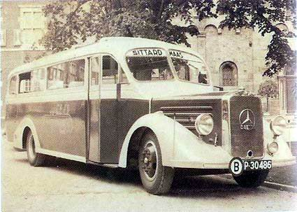 1935 Mercedes Benz Bus