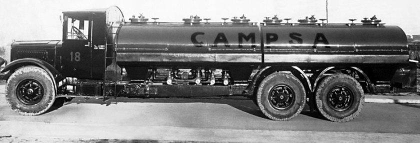 1935 MERCEDES BENZ du pétrolier Campsa Espagnol