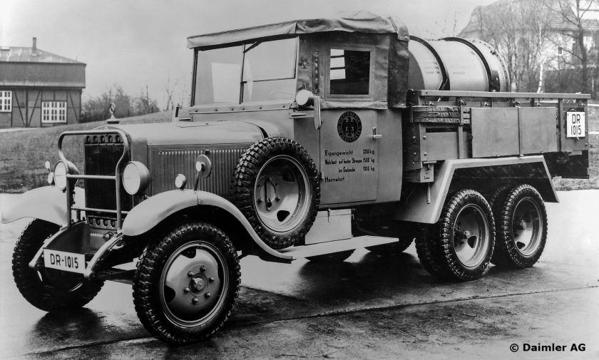 Mercedes-Benz Typ G 3a Pritschenwagen für die Deutsche Reichsbahn, 1935