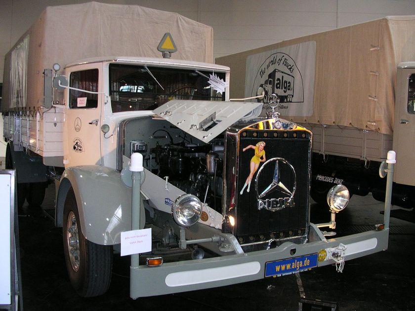 1935 Mercedes Benz L 6500